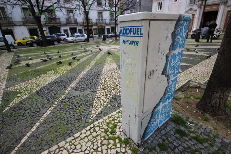ceramic tile street art diogo machado add fuel lisbon (5)