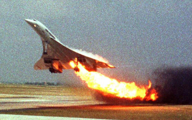 concorde crash 3D Replicas of 7 Historic Photos
