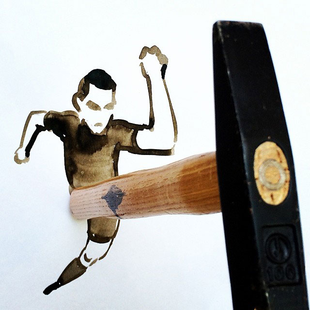 creative sketches with everyday objects by christoph niemann (3)