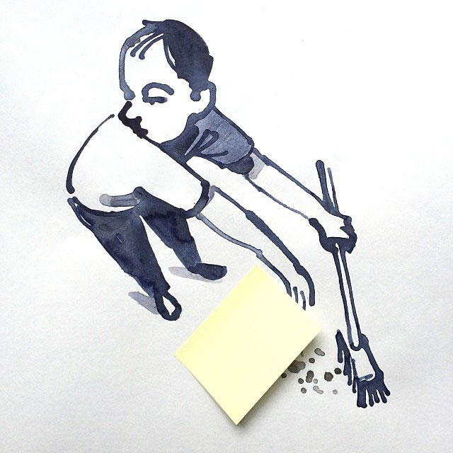 creative sketches with everyday objects by christoph niemann (6)