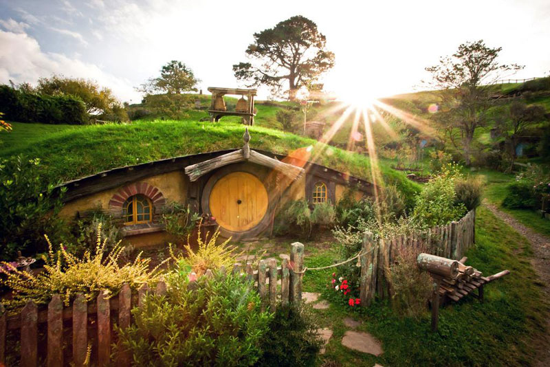 Hobbiton Is A Real Place In New Zealand This What It