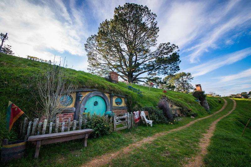 hobbiton movie set tour new zealand (4)