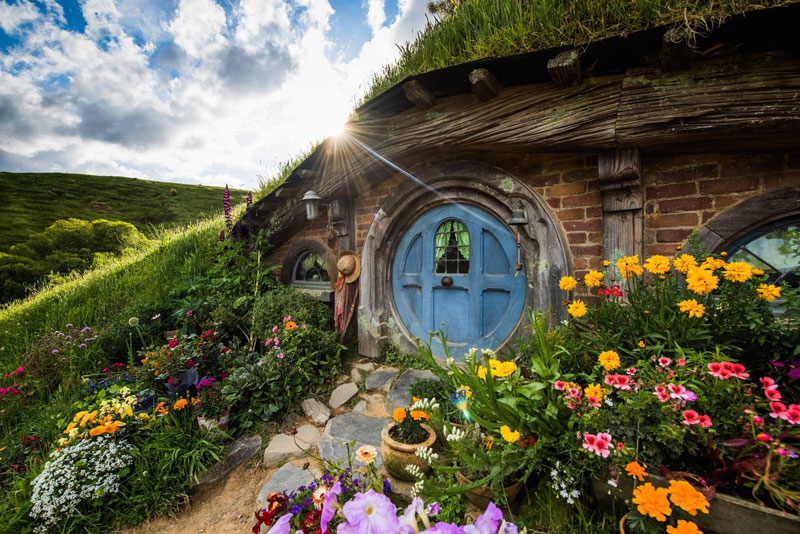 hobbiton movie set tour new zealand (7)