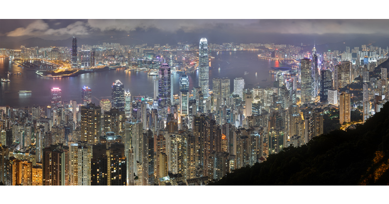 Picture of the Day: The Hong Kong Skyline atNight