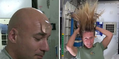 How Astronauts Wash Their Hair in Space