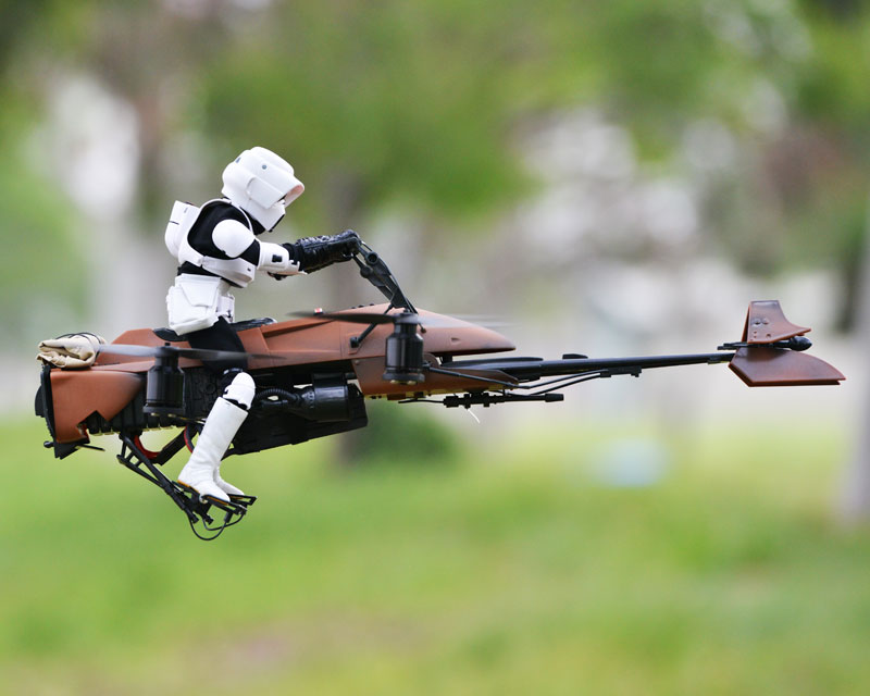 imperial speeder bike quadcopter drone by adam woodworth (7)