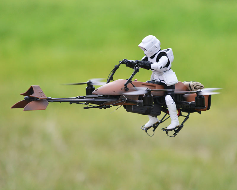 imperial speeder bike quadcopter drone by adam woodworth (8)