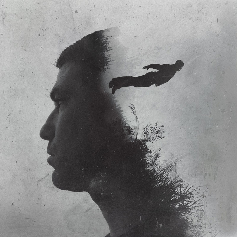 Life Lessons through Powerful Double Exposure Photos brandon kidwell (4)