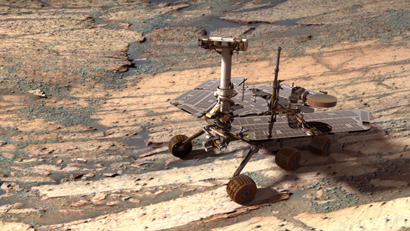 """Rover Completes First Ever """"Mars Marathon"""" with Time of 11 Years, 2Months"""