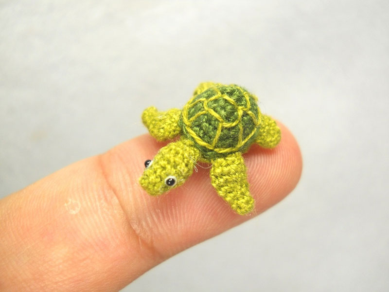 miniature crochet animals by su ami (23)