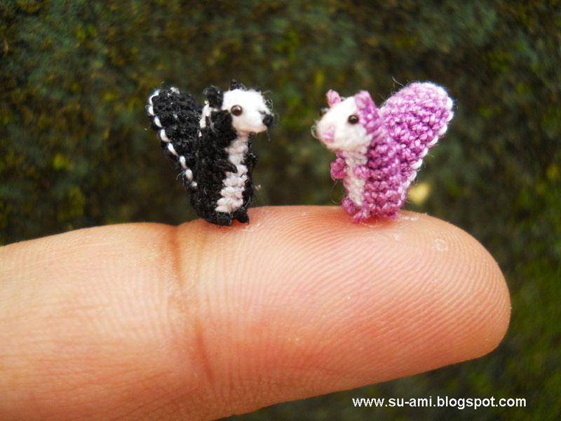 miniature crochet animals by su ami (3)