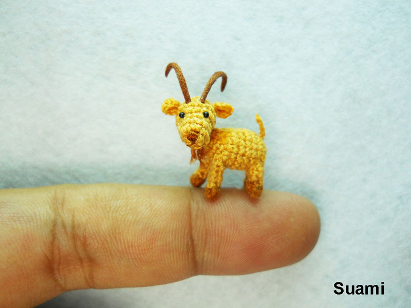 miniature crochet animals by su ami (7)