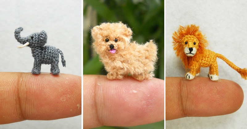 Crochet Animals : The 25 Cutest Miniature Crochet Animals Ever ?TwistedSifter