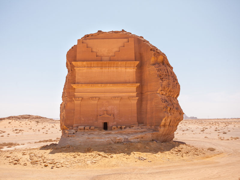 qasr al farid the lonely castle mada'in saleh saudi arabia unesco (2)