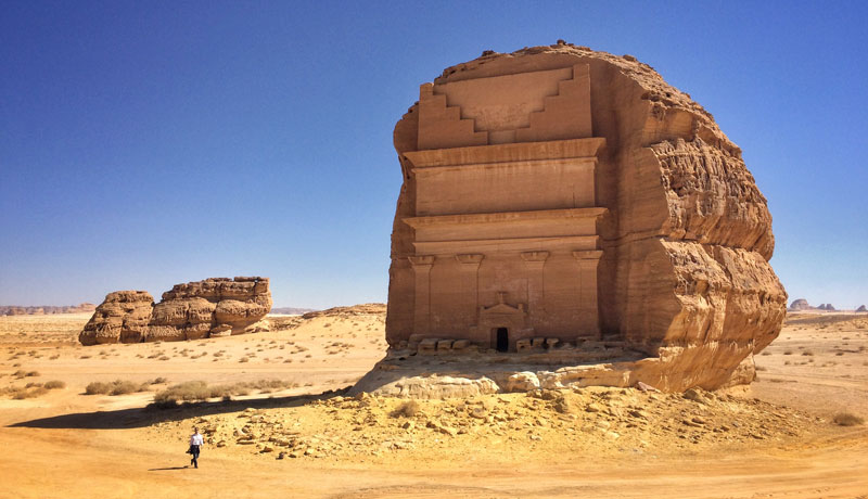 qasr al farid the lonely castle mada'in saleh saudi arabia unesco (4)