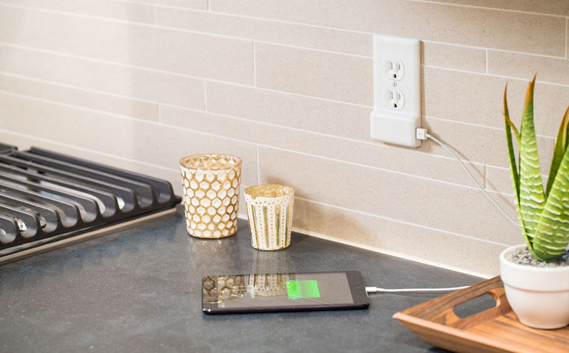 Forget Chargers, this USB Wall Plate Frees Up Your Outlets inSeconds