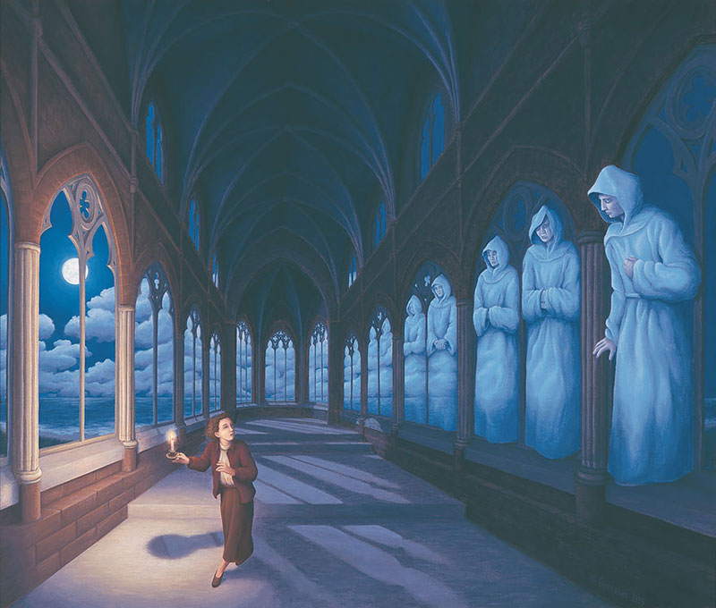 surreal optical illusion paintings by rob gonsalves (15)