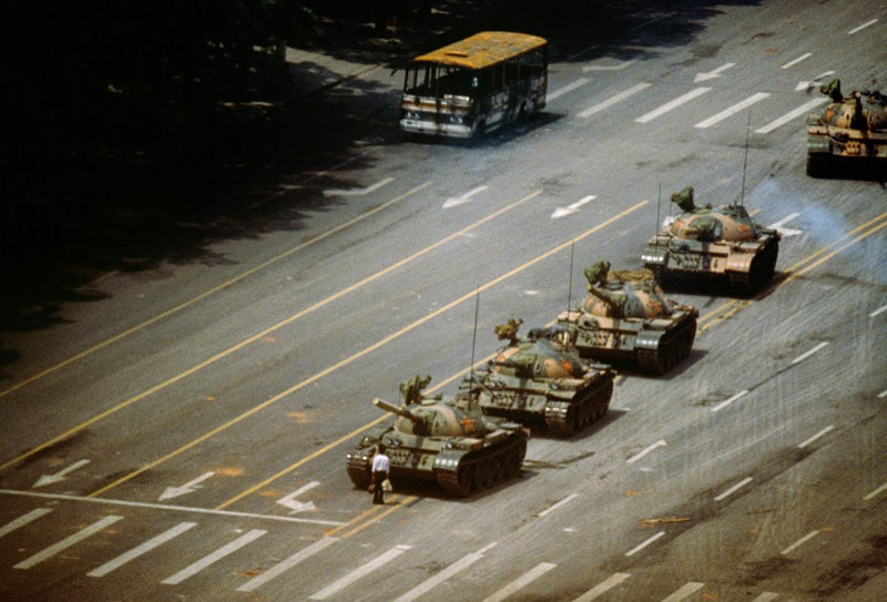 tank man tiannemen square 3D Replicas of 7 Historic Photos