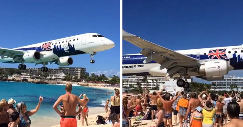 video-shows-just-how-low-the-planes-at-maho-beach-get