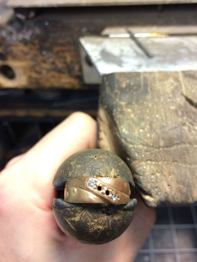 Wedding Ring Restoration Afer Falling Into a Garbage Dispoal (12)
