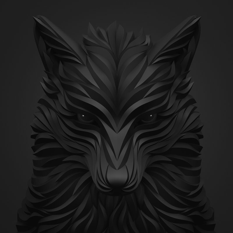 Wolf and Hoof 3D Animals by Maxim Shkret (5)