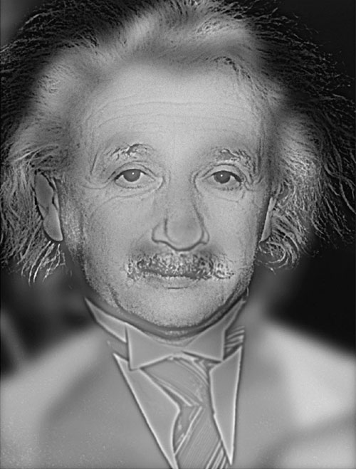 albert einstein marilyn monroe hybrid image This Marilyn Monroe, Albert Einstein Vision Test Can Quickly Tell If you Need Glasses