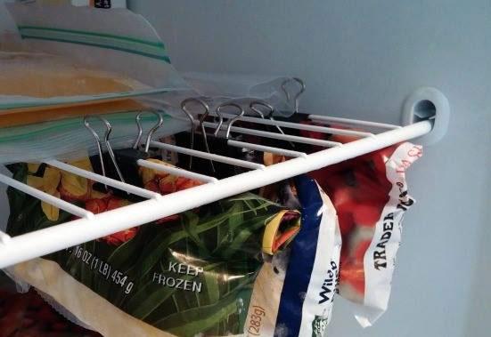 binder clips for vegetables