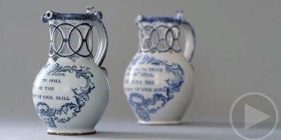 Ceramics Artist Recreates an 18th Century PuzzleJug