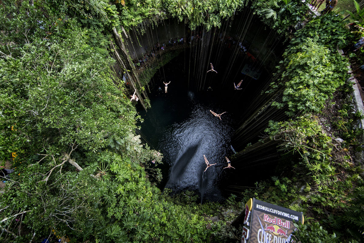 diving into the abyss redbull yucatan peninsula Picture of the Day: Diving Into the Abyss