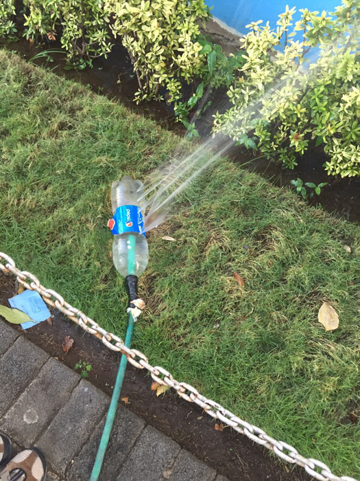 diy sprinkler