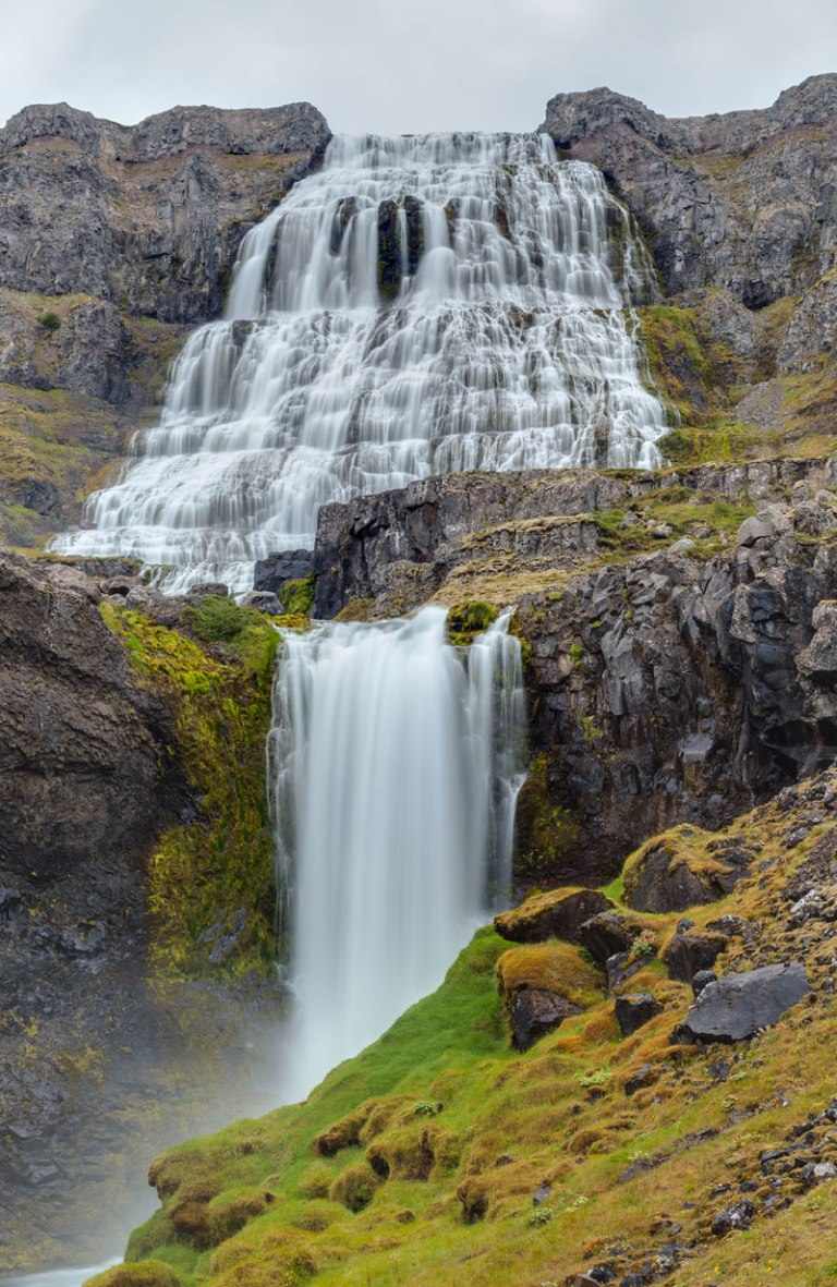 Dynjandi (Fjallfoss) waterfalls westfjords iceland