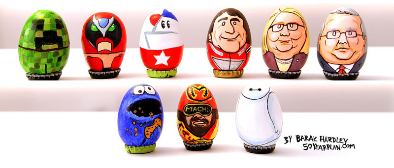 easter egg paintings by barak hardley (5)