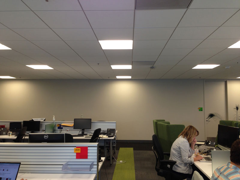 Employee Uses Post Its To Turn Drab Office Walls Into Giant Superhero  Murals (1