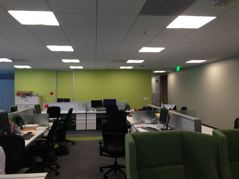 Employee Uses Post-Its to Turn Drab Office Walls Into Giant Superhero Murals (2)