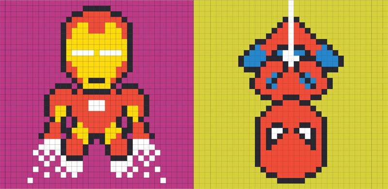 Рисуем по клеточкам с пикселями