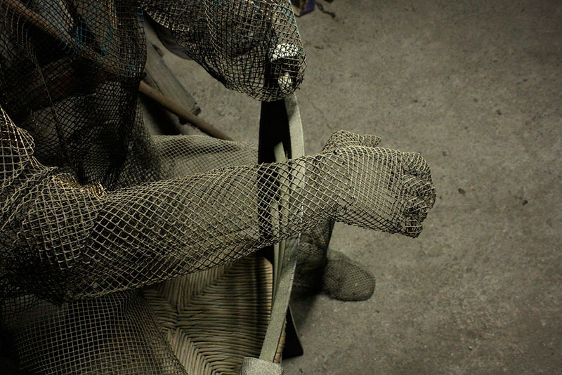 figurative wire mesh sculptures by Edoardo Tresoldi (8)