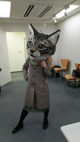 Art Students in Japan Made a Giant Cat Head and it's ...