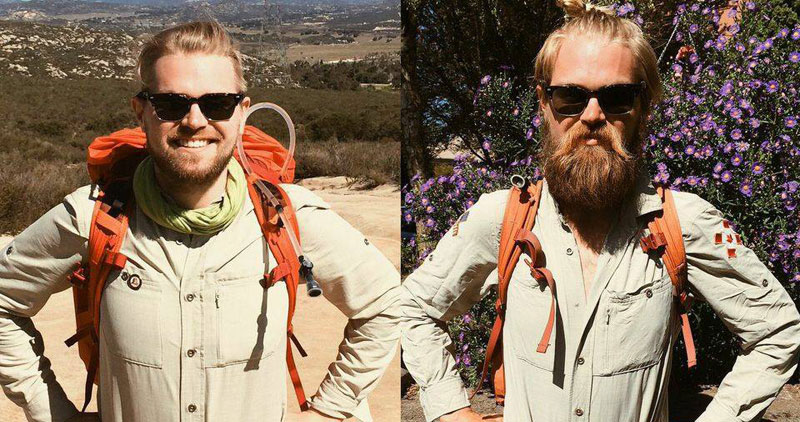 Picture of the Day: Hiking from Mexico to Canada | Before and After