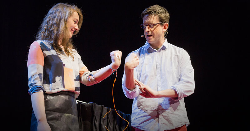 How To Control Someone Else's Arm With YourBrain