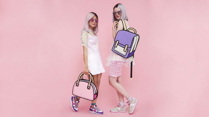 jump from paper Cartoon Bags Look Photoshopped But They are Real (7)