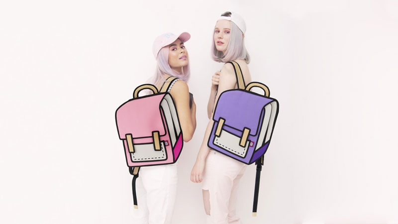jump from paper Cartoon Bags Look Photoshopped But They are Real (8)