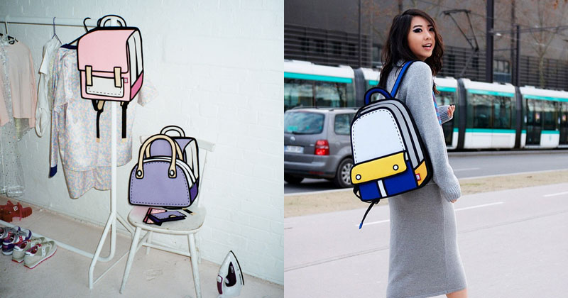 These Cartoon Bags Look Photoshopped, But They're 100% Real