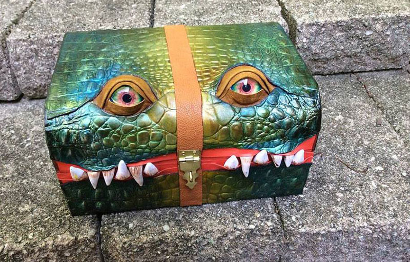 leather monster bags and boxes by mellie z fine line leather design (1)
