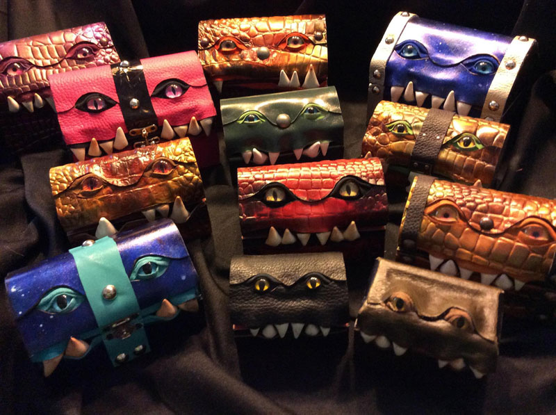 leather monster bags and boxes by mellie z fine line leather design (12)