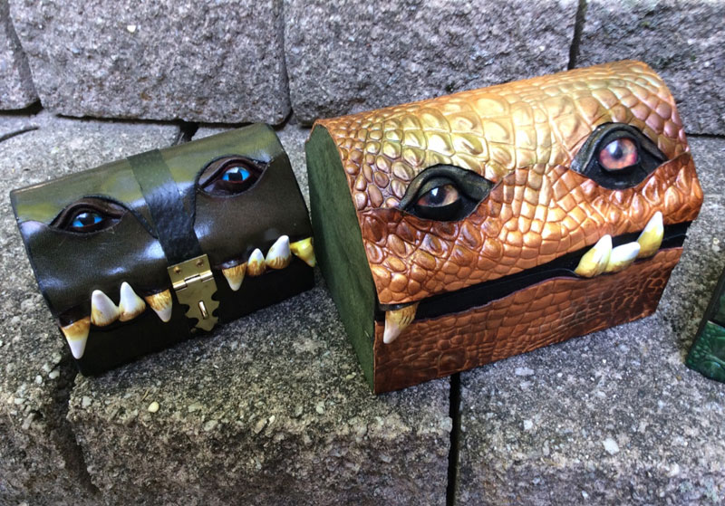 leather monster bags and boxes by mellie z fine line leather design (17)