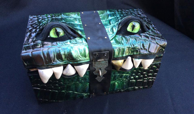 leather monster bags and boxes by mellie z fine line leather design (6)