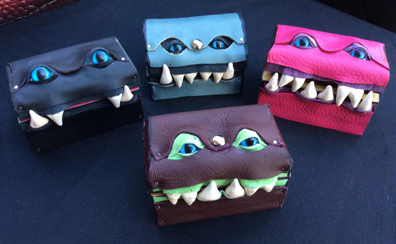 leather monster bags and boxes by mellie z fine line leather design (8)