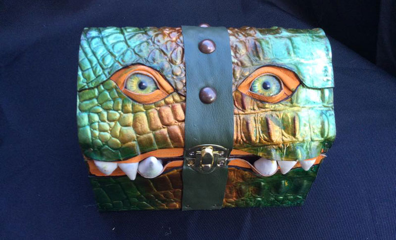 leather monster bags and boxes by mellie z fine line leather design (9)