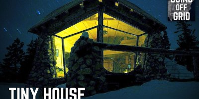 Pro Snowboarder Moves Off the Grid Into 225 sq ft Dream House Surrounded byNature
