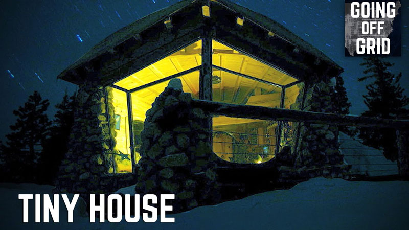 Pro Snowboarder Moves Off the Grid Into 225 sq ft Dream House Surrounded by Nature